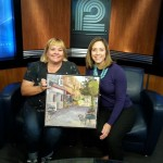WISN Channel 12 Interview Sunday 9/14/14 with Melissa Marschka and Artist Jenny Anderson