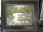River's Edge, 11x14,enpleinair, 1st place quick paint, Shorewood,Wi. 2013